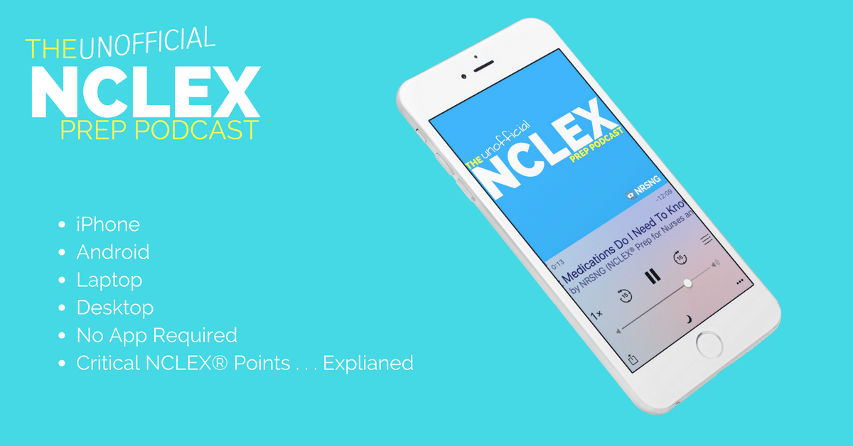 nclex prep podcast nursing students nurses