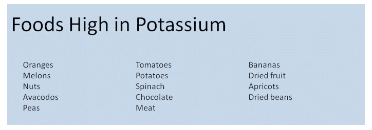 foods high in potassium