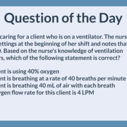 QOD 075: Adult ventilator (Physiological adaptation)